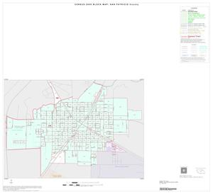 Primary view of object titled '2000 Census County Block Map: San Patricio County, Inset C01'.