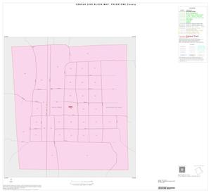 Primary view of object titled '2000 Census County Block Map: Freestone County, Inset C01'.