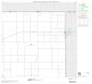 Primary view of object titled '2000 Census County Block Map: Ochiltree County, Block 3'.