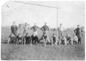 Primary view of object titled '1st Orange High School Football Team - 1909'.
