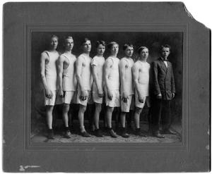 Primary view of object titled 'Orange High School Track Team'.