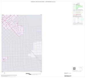 Primary view of object titled '2000 Census County Block Map: Jefferson County, Inset A04'.