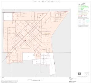 Primary view of object titled '2000 Census County Block Map: Schleicher County, Inset A01'.