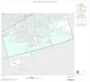 Primary view of object titled '2000 Census County Block Map: Midland County, Inset B04'.