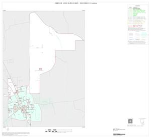 Primary view of object titled '2000 Census County Block Map: Cherokee County, Inset G01'.