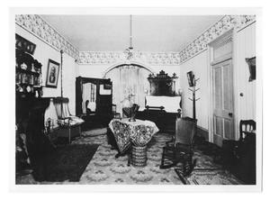 Primary view of object titled '[Parlor of the H.J. Lutcher Home]'.