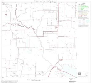 Primary view of object titled '2000 Census County Block Map: Hunt County, Block 18'.