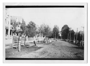 Primary view of object titled '[Pine Street in Orange]'.