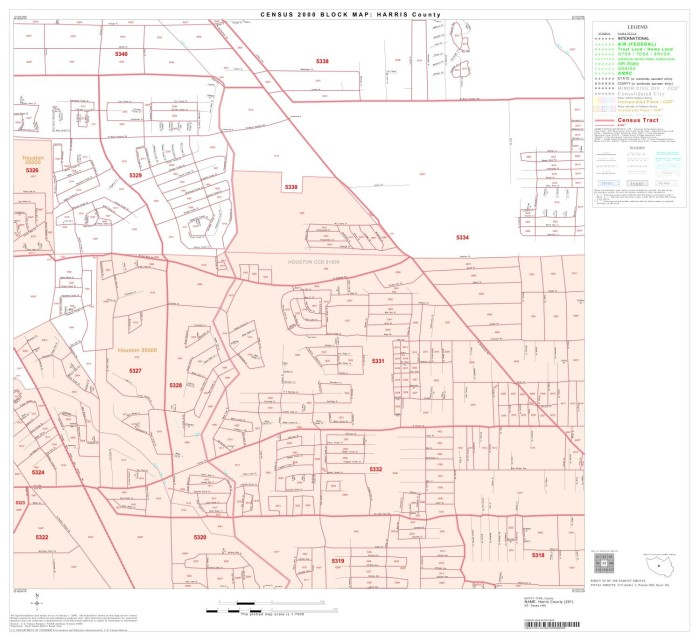 Map Of Texas 99.2000 Census County Block Map Harris County Block 99 The Portal