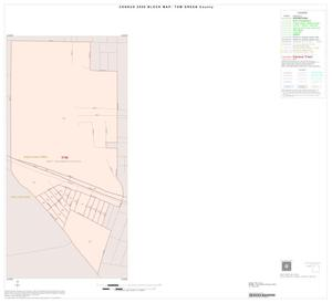 Primary view of object titled '2000 Census County Block Map: Tom Green County, Inset B01'.
