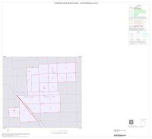 Primary view of object titled '2000 Census County Block Map: Jefferson County, Inset B01'.