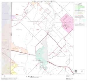 Primary view of object titled '2000 Census County Block Map: Kaufman County, Block 4'.