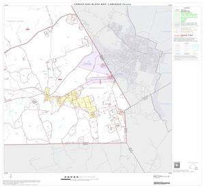 Primary view of object titled '2000 Census County Block Map: Lampasas County, Block 10'.