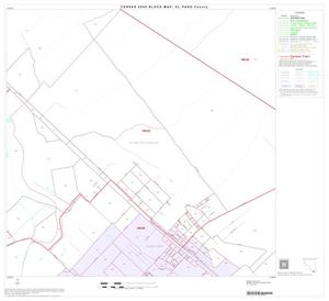 Primary view of object titled '2000 Census County Block Map: El Paso County, Block 81'.