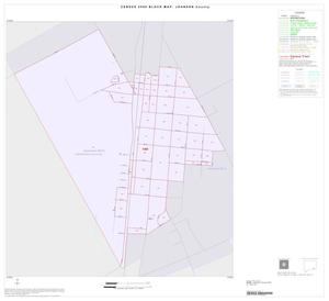 Primary view of object titled '2000 Census County Block Map: Johnson County, Inset K01'.