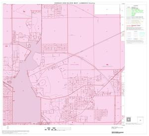 Primary view of object titled '2000 Census County Block Map: Lubbock County, Block 25'.