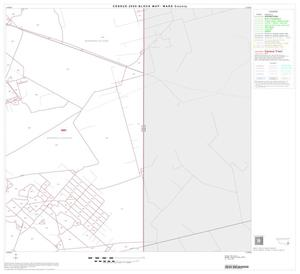 Primary view of object titled '2000 Census County Block Map: Ward County, Block 22'.