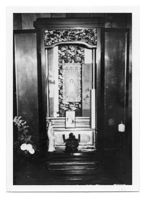 Primary view of object titled '[Buddhist shrine]'.