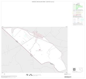Primary view of object titled '2000 Census County Block Map: Austin County, Inset D01'.