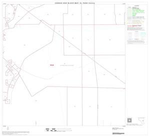 Primary view of object titled '2000 Census County Block Map: El Paso County, Block 51'.