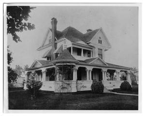 Primary view of object titled '[Side view of Lucas home]'.