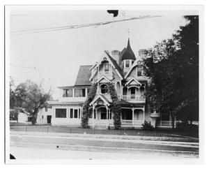 Primary view of object titled '[Home of Dr. E.W. Brown]'.