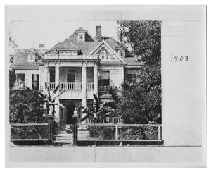 Primary view of object titled '[Home of John T. Hart]'.
