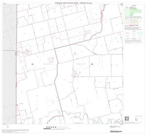 Primary view of object titled '2000 Census County Block Map: Jones County, Block 4'.