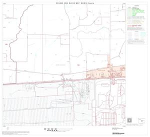 Primary view of object titled '2000 Census County Block Map: Bowie County, Block 13'.