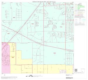 Primary view of object titled '2000 Census County Block Map: Dallas County, Block 74'.