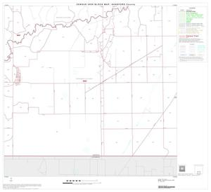 Primary view of object titled '2000 Census County Block Map: Hansford County, Block 8'.