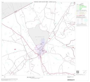 Primary view of object titled '2000 Census County Block Map: Leon County, Block 8'.