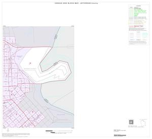 Primary view of object titled '2000 Census County Block Map: Jefferson County, Inset A02'.
