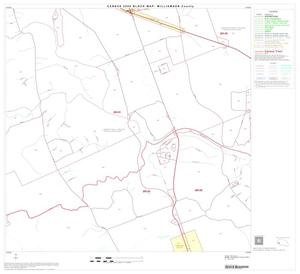 Primary view of object titled '2000 Census County Block Map: Williamson County, Block 38'.