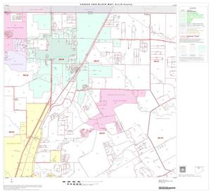 Primary view of object titled '2000 Census County Block Map: Ellis County, Block 3'.