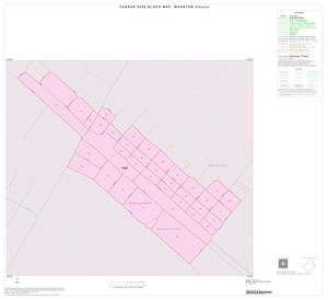 Primary view of object titled '2000 Census County Block Map: Wharton County, Inset D01'.