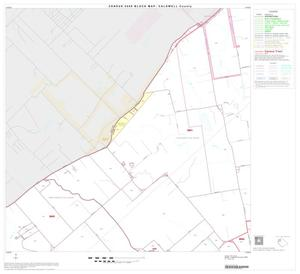 Primary view of object titled '2000 Census County Block Map: Caldwell County, Block 5'.