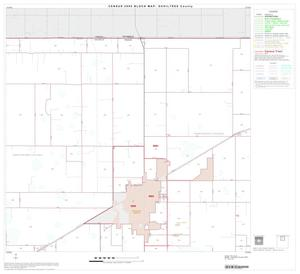 Primary view of object titled '2000 Census County Block Map: Ochiltree County, Block 2'.