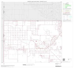 Primary view of object titled '2000 Census County Block Map: Gaines County, Block 1'.