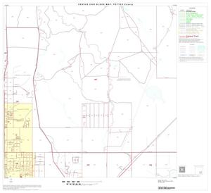 Primary view of object titled '2000 Census County Block Map: Potter County, Block 19'.