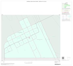 Primary view of object titled '2000 Census County Block Map: Hartley County, Inset C01'.