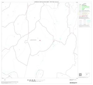 Primary view of object titled '2000 Census County Block Map: Potter County, Block 7'.