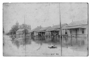 Primary view of object titled 'Flooded Henderson Street'.