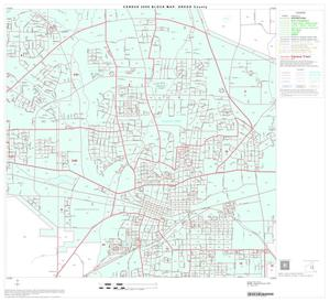 Primary view of object titled '2000 Census County Block Map: Gregg County, Block 12'.