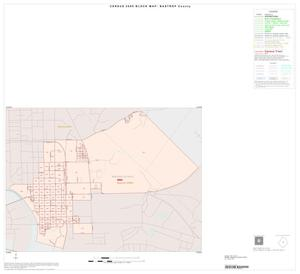 Primary view of object titled '2000 Census County Block Map: Bastrop County, Inset C01'.