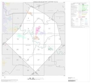 Primary view of object titled '2000 Census County Block Map: Bastrop County, Index'.