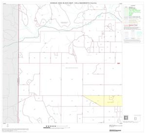 Primary view of object titled '2000 Census County Block Map: Collingsworth County, Block 4'.