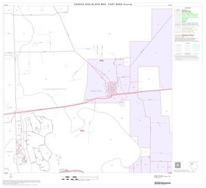 Primary view of object titled '2000 Census County Block Map: Fort Bend County, Block 9'.