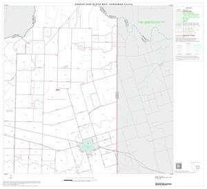 Primary view of object titled '2000 Census County Block Map: Hardeman County, Block 6'.