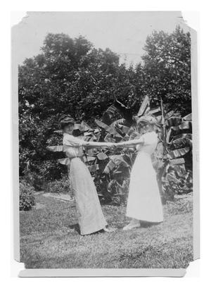 Primary view of object titled 'Flavia Wignall Reid and Elizabeth Bancroft Lea'.